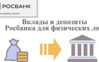 Вклады от Росбанка: преимущества, процентная ставка, лимиты