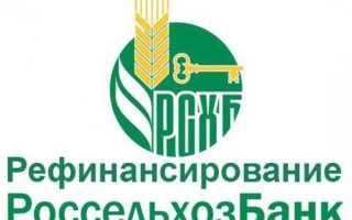 Процесс рефинансирования кредитов других банков от Россельхозбанка