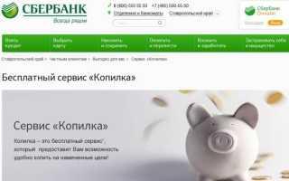 Копилка Сбербанка: особенности услуги и преимущества