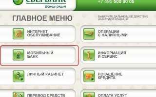 Оплата мобильного банкинга в Сбербанке: пакеты и тарифы