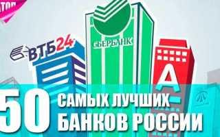 Рейтинг банков России: обзор лучших финансовый учреждений